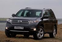 Компания Toyota в России объявила об отзыве кроссоверов Highlander