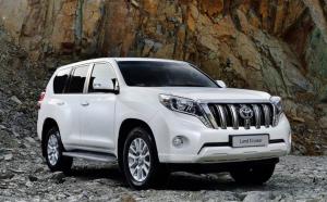 Ремонт и обслуживание Toyota Land Cruiser Prado