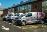 Vauxhall Vivaro-e для Mitie